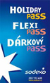 holiday pass, flexi pass, dárkový pass